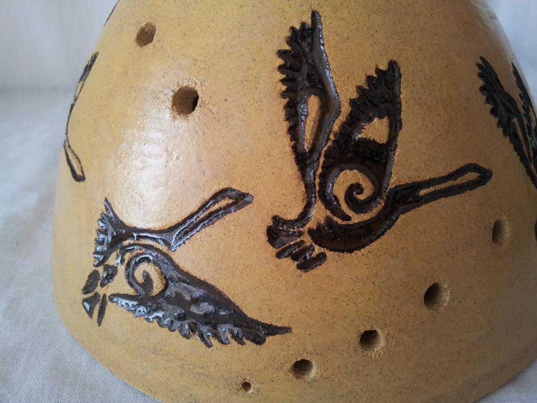ptasia lampa wisząca