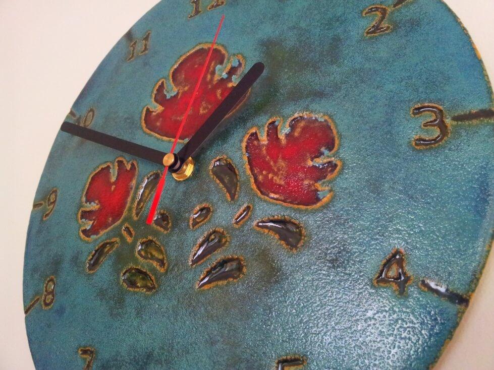 zegar ceramiczny rekodzielo