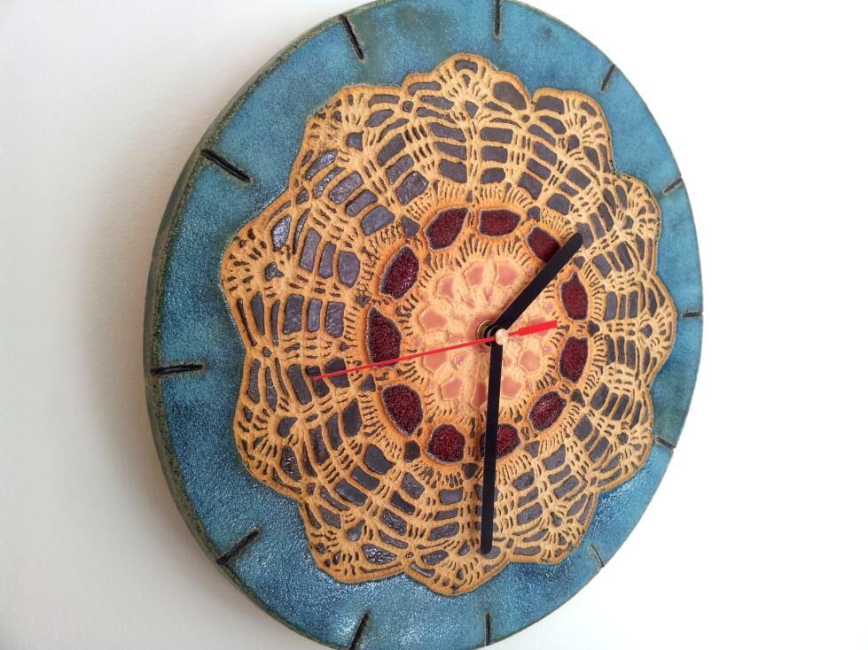 folkowy zegar rekodzielo
