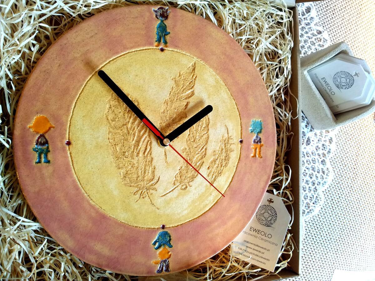 zegar na prezent