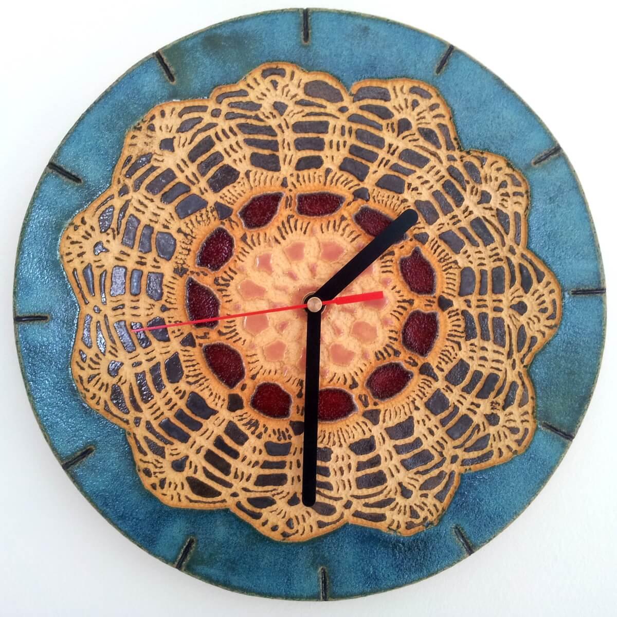 zegar folkowy