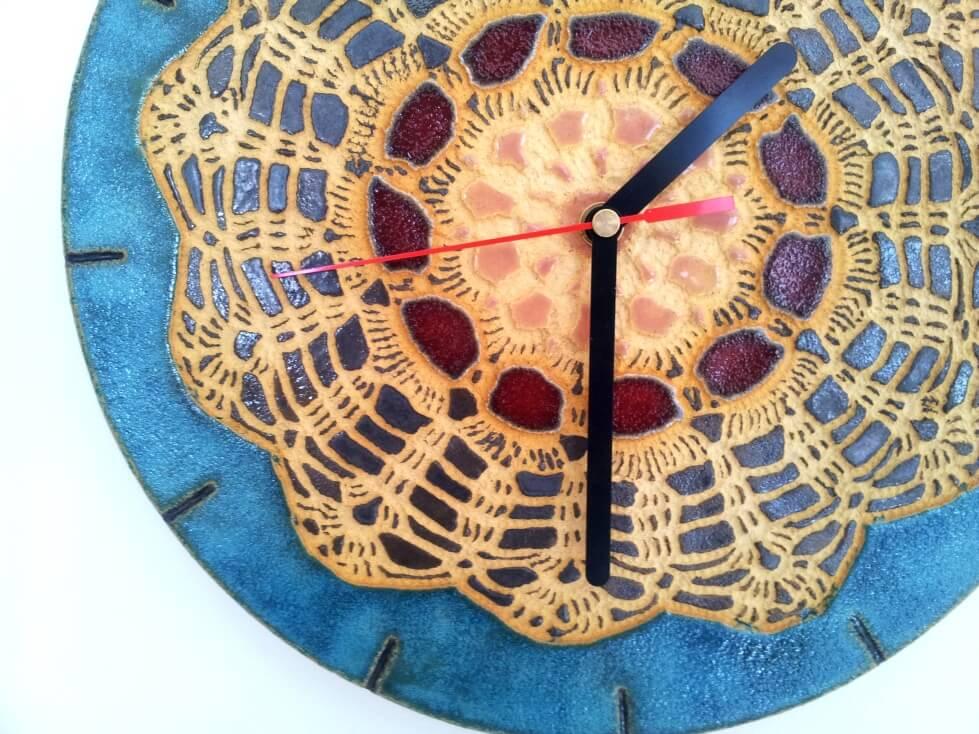 fajny folkowy zegar
