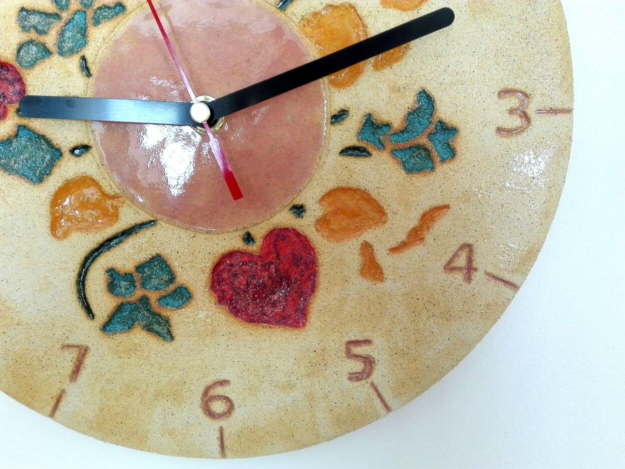 zegar kwiaty pomysł na prezent