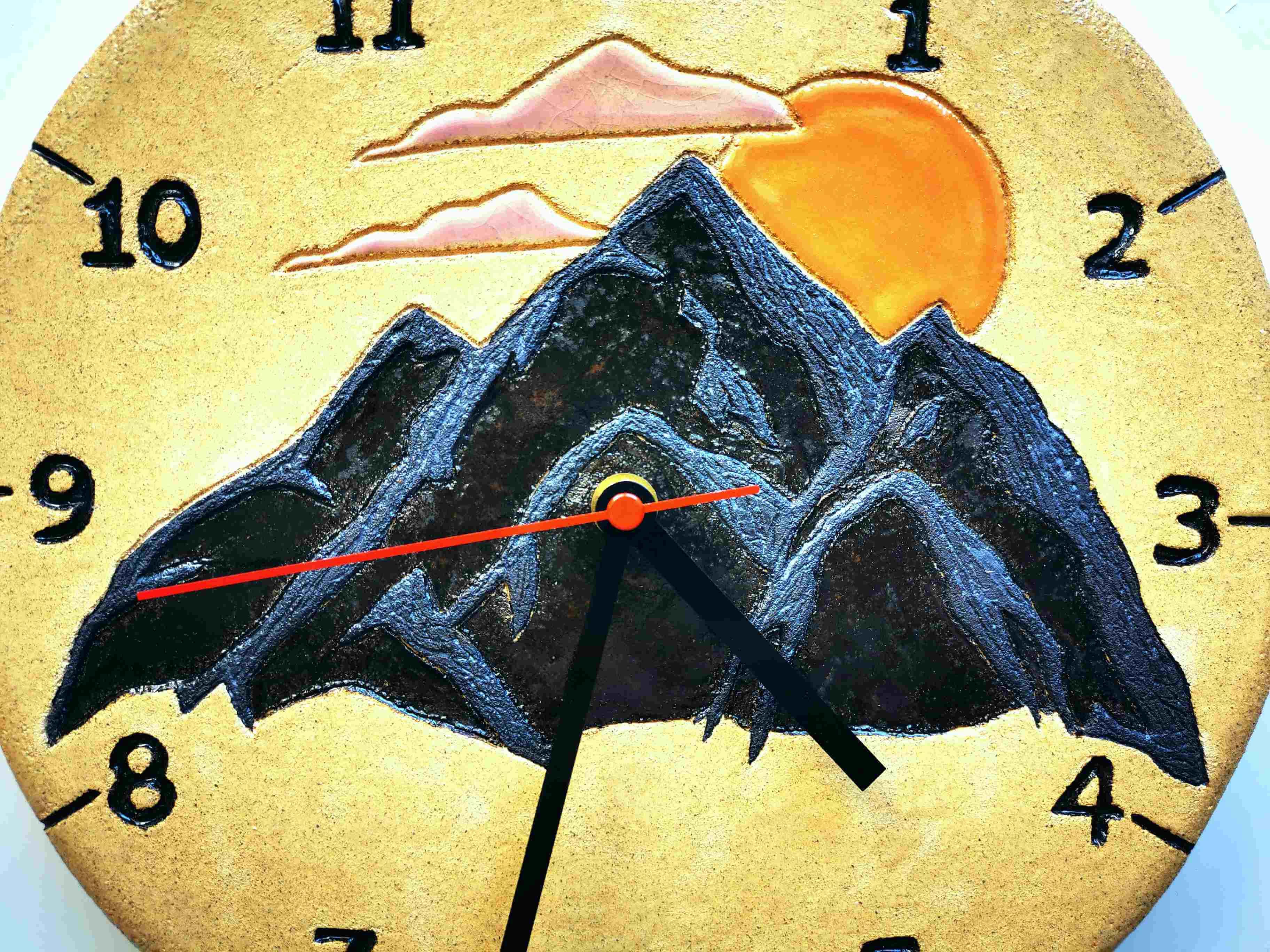 zegar z tęsknoty za górami