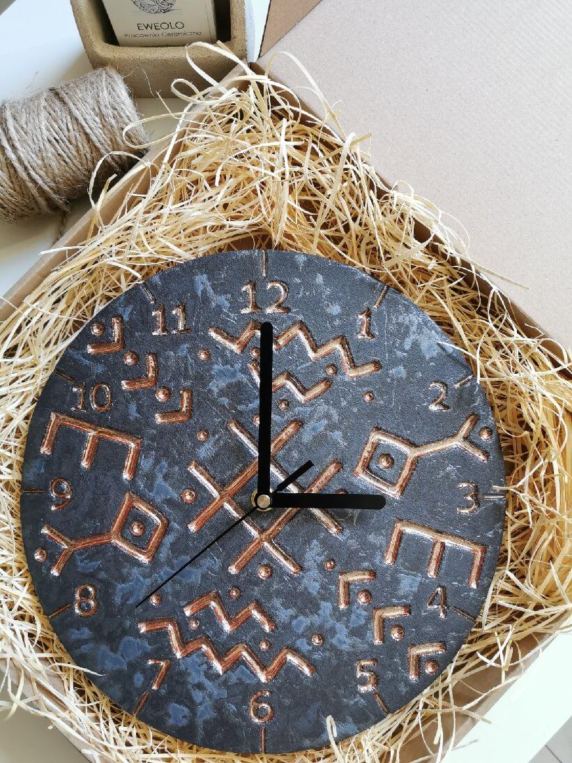Zegar ścienny nordycki