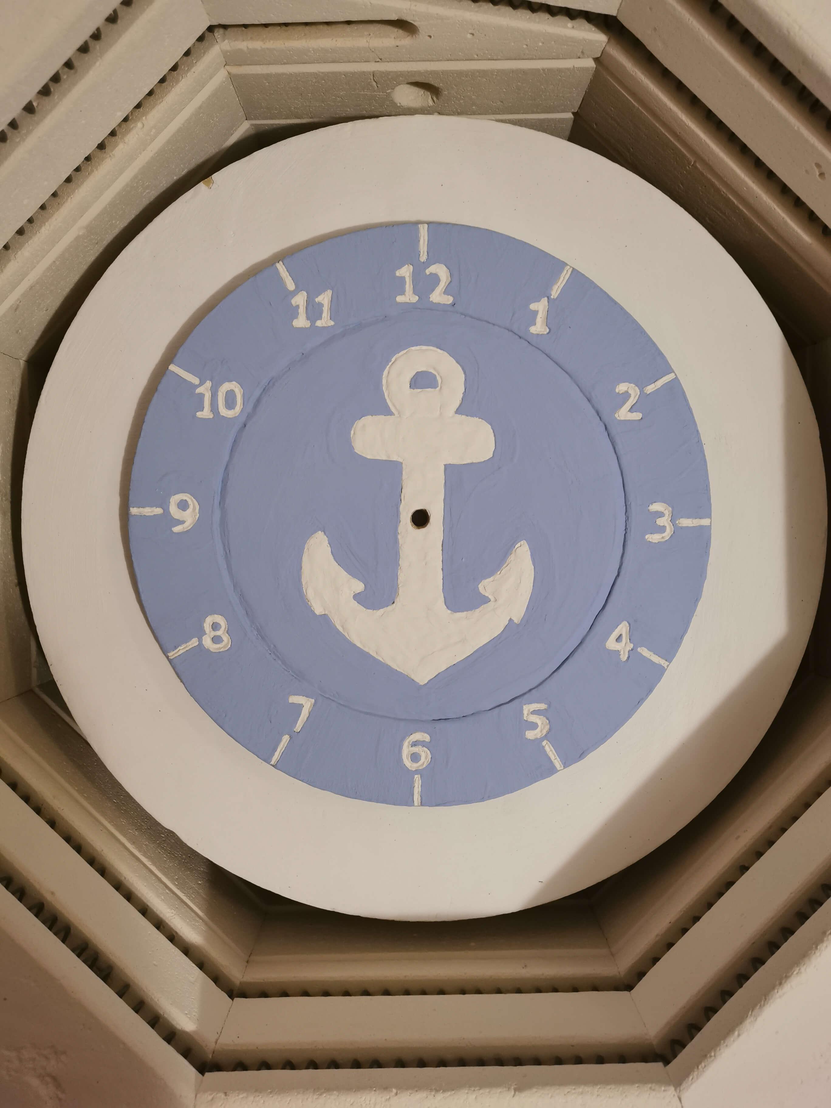 Eweolo szkliwo styl marin zegar