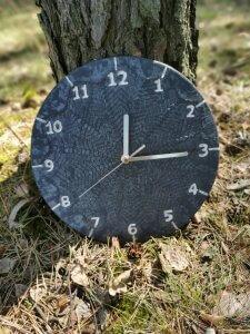 czarny-zegar-koronka