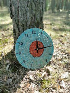 niebieski-zegar-scienny-eweolo-styl-wiejski